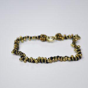 Shaanti zwart, goud