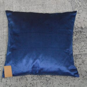 Velvet Kussen blauw