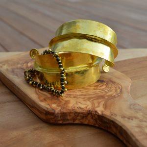 Fulani armband goud