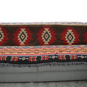 Plaid Azteken bruin