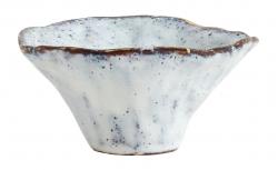 lichtblauwe aardewerk kommetje