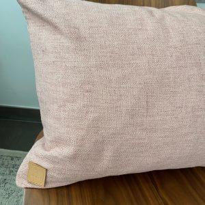 Herringbone Pink Large kussen 50*80cm