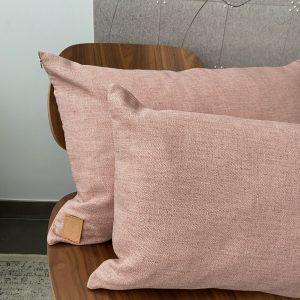 Herringbone Pink kussen 40*60cm