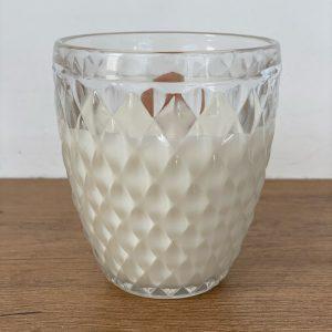 Cedarwood geurkaars glas