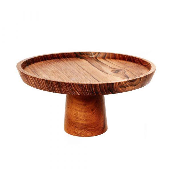 houten taartenhouder M